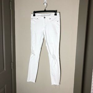 Articles of society white distressed jeans 26